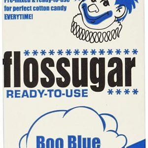 Boo Blue - Blue Raspberry Flossugar - Half Gallon Carton - Pic 1 - Chicagoland Event Rentals - Wheaton - www.ChicagolandEventRentals.com
