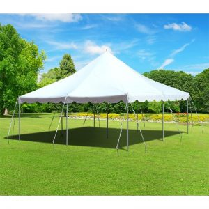 Canopy Pole Tent - 20 x 20 - Pic 1 - Chicagoland Event Rentals - Wheaton - www.ChicagolandEventRentals.com