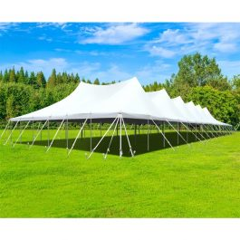 Canopy Pole Tent - 30 x 150 - Pic 1 - Chicagoland Event Rentals - Wheaton - www.ChicagolandEventRentals.com