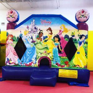 Disney Princess Inflatable Bounce House Moonwalk - Pic 1 - Chicagoland Event Rentals - Wheaton - www.ChicagolandEventRentals.com