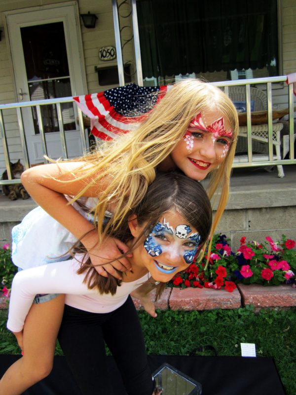 Face Painting - Hand Painting - Pic 2 - Chicagoland Event Rentals - Wheaton - www.ChicagolandEventRentals.com