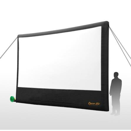 Movie Screen Premium - 9′ x 16′ Inflatable Screen - Pic 1 - Chicagoland Event Rentals - Wheaton - www.ChicagolandEventRentals.com