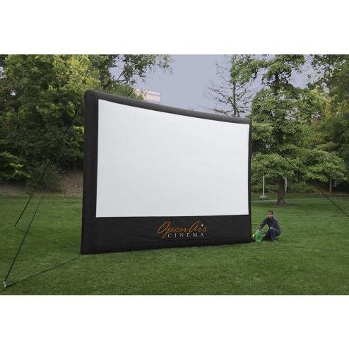 Movie Screen Premium - 9′ x 16′ Inflatable Screen - Pic 2 - Chicagoland Event Rentals - Wheaton - www.ChicagolandEventRentals.com