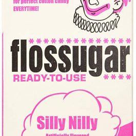 Silly Nilly Pink - Vanilla Flossugar - Half Gallon Carton - Pic 1 - Chicagoland Event Rentals - Wheaton - www.ChicagolandEventRentals.com