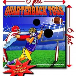 Sports Football Quarterback Toss - Pic 2 - Chicagoland Event Rentals - Wheaton - www.ChicagolandEventRentals.com
