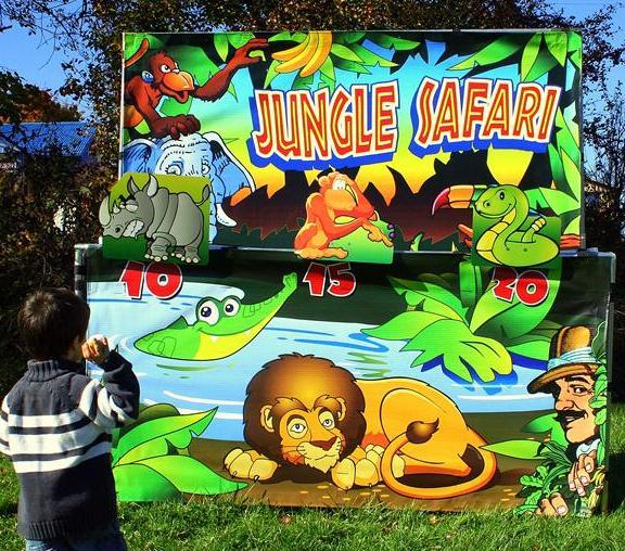 Sports Jungle Safari - Pic 1 - Chicagoland Event Rentals - Wheaton - www.ChicagolandEventRentals.com
