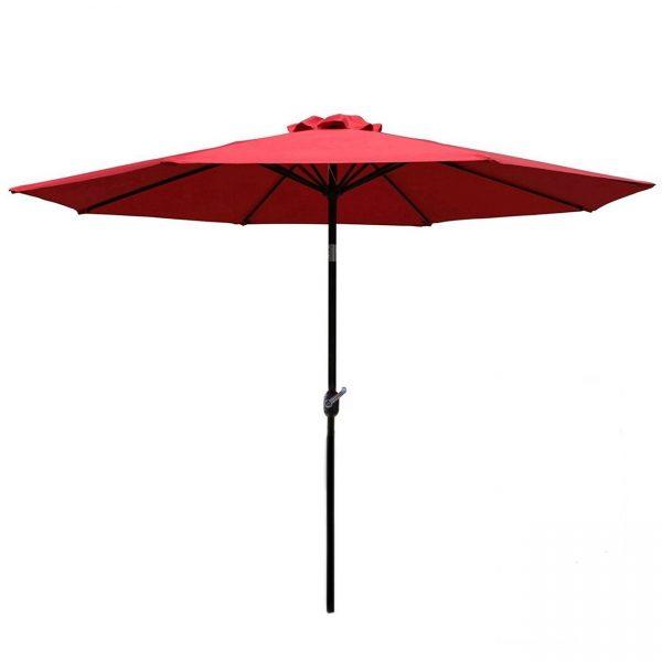 Table Umbrella - Red - Pic 1 - Chicagoland Event Rentals - Wheaton - www.ChicagolandEventRentals.com