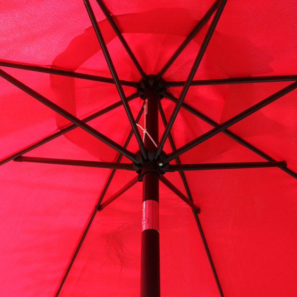 Table Umbrella - Red - Pic 4 - Chicagoland Event Rentals - Wheaton - www.ChicagolandEventRentals.com