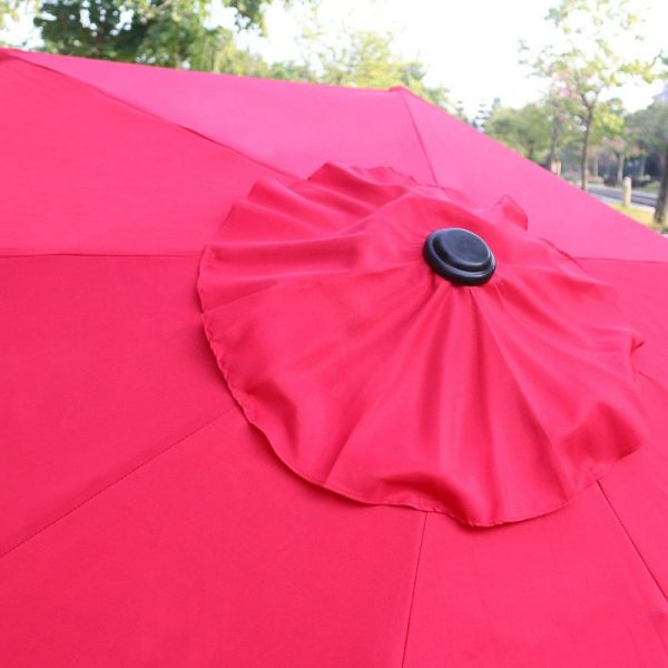 Table Umbrella - Red - Pic 5 - Chicagoland Event Rentals - Wheaton - www.ChicagolandEventRentals.com