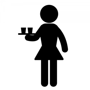 Wait Staff - Cocktail Service - Female - Chicagoland Event Rentals - Wheaton - www.ChicagolandEventRentals.com