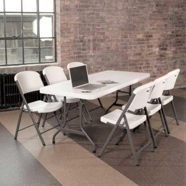 6' Banquet - Plastic - Table Rental 2