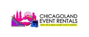 Chicagoland Event Rentals - Wheaton - Chicago - Horizontal Logo - Small - JPG