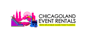 Chicagoland Event Rentals - Wheaton - Chicago - Horizontal Logo - Small - PNG