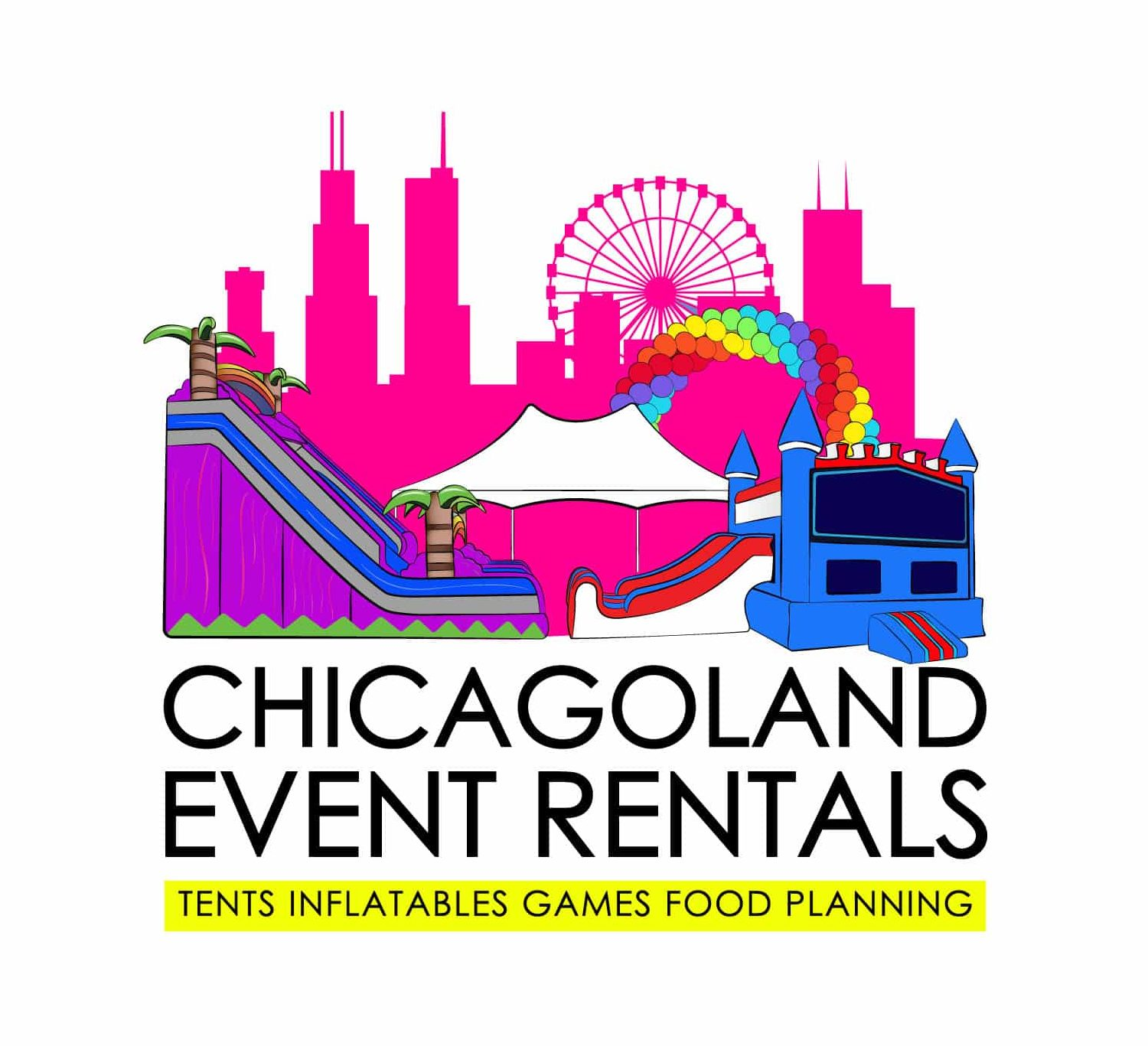 Chicagoland Event Rentals - Wheaton - Chicago - Square Logo - JPG