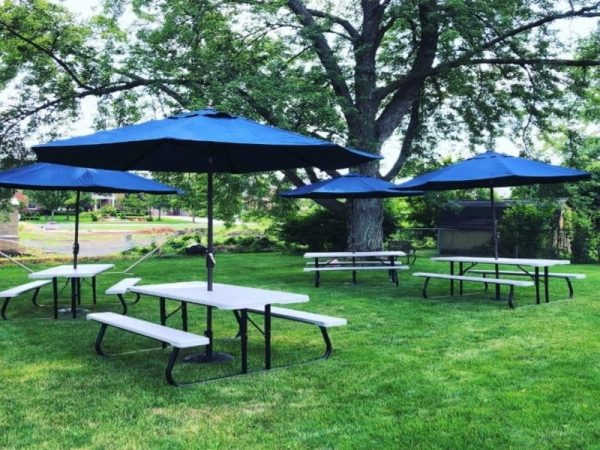 complete picnic table package chicago