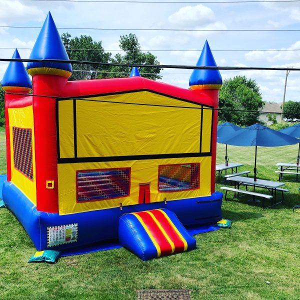 Inflatable Bounce House Moonwalk Jumper