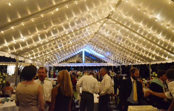 Cafe String Lighting - 10 x 10 Tent (Copy)