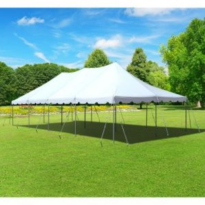Grass with Stakes - 20 x 40 Tent