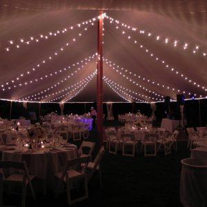 Italian String Lighting - 30 x 150 Tent