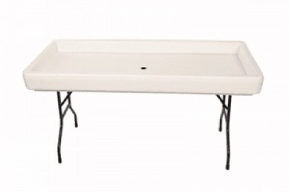 Fill and Chill Table w Skirt